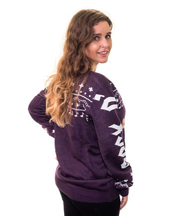 rockin rudolph ugly sweater product image woman 3