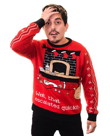 escalated quickly sweater product image man