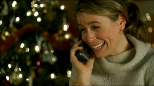 Penny from Lost crying on the phone