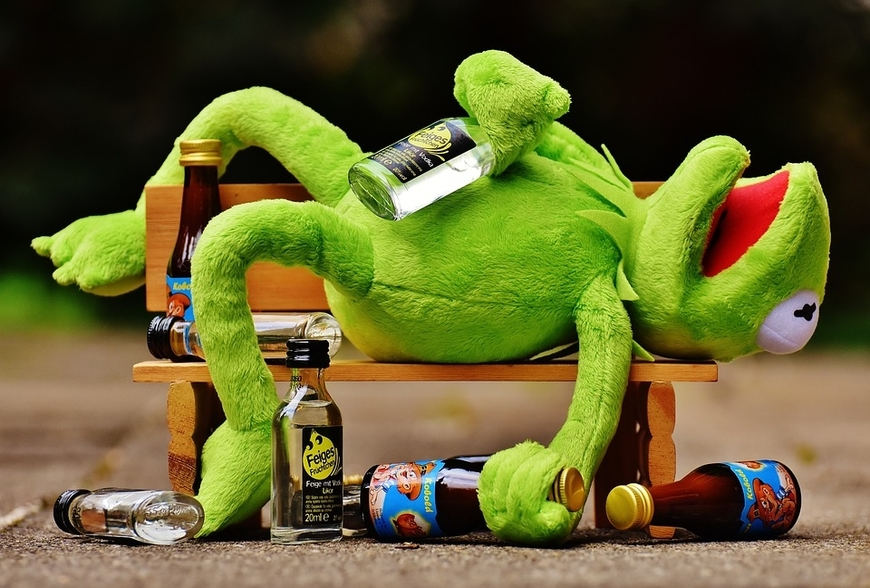 christmas drinking games kermit