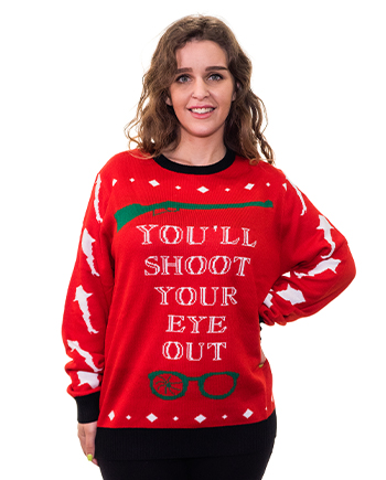 christmas story ugly sweater product image woman 3