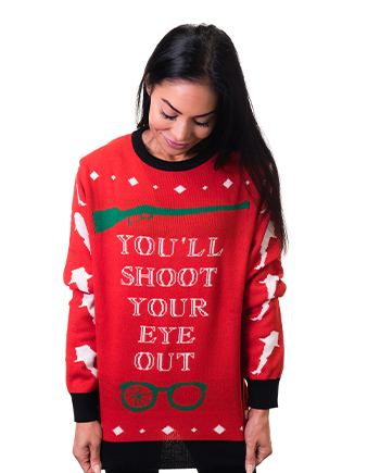 christmas story ugly sweater product image woman 2