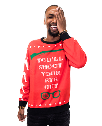 christmas story ugly sweater product image man 4