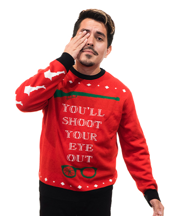 christmas story ugly sweater product image man 2