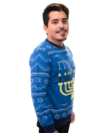 it's lit sweater product image man 5