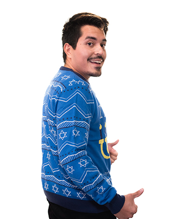 it's lit sweater product image man 3