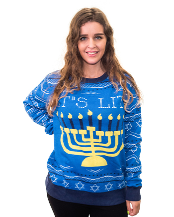 it's lit sweater product image woman 3