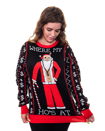 where my ho's sweater product image woman 3