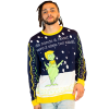 Men's Fake News Grinch Ugly Sweater