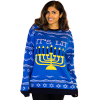 Women's It's Lit Ugly Hanukkah Sweater 4