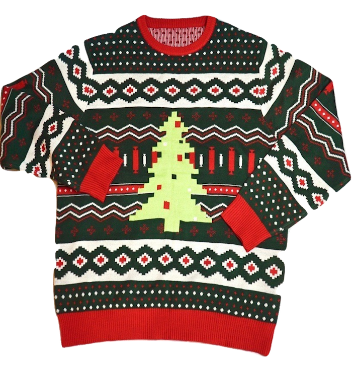 Christmas Tree Swag Ugly Sweater