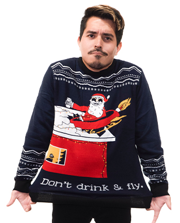 drink n fly ugly sweater product image man 2