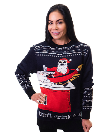 drink n fly ugly sweater product image woman 3
