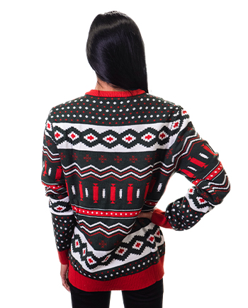christmas tree ugly sweater product image woman 2