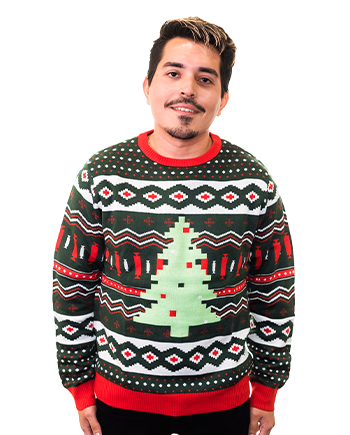christmas tree ugly sweater product image man 5