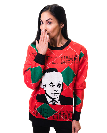 that's what she said ugly sweater product image woman 3