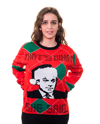 that's what she said ugly sweater product image woman 6