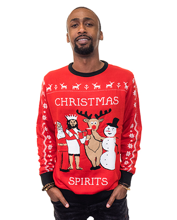 christmas spirits ugly sweater product man 4