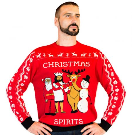 Men's Squad Goals Ugly Sweater 1