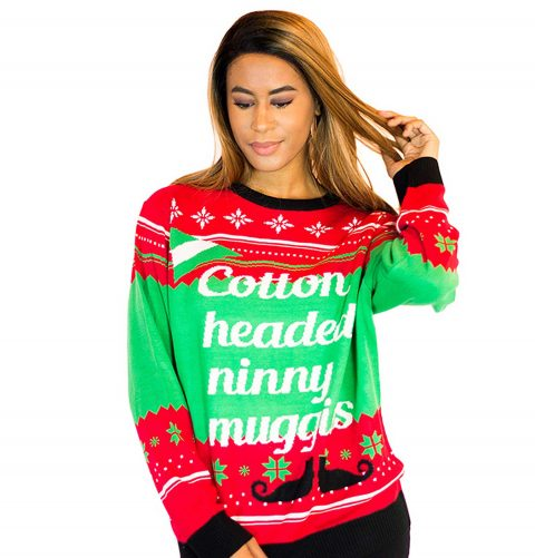 Women S Cotton Headed Ugly Sweater