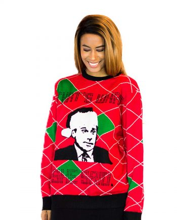 that's what she said womens ugly sweater