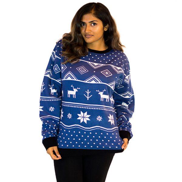 fa78331d89e1 Blue Deer Classic Ugly Sweater Unisex