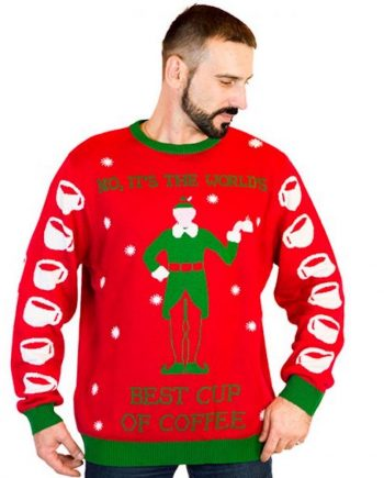 elf ugly christmas sweater men 2