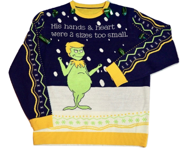 grinch trump christmas sweater